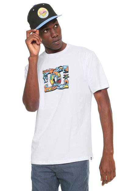 Camiseta DC Shoes All City - Branca